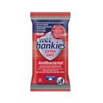 Wet Hankies Extra Safe Antibacterial Wet Wipes 12pcs