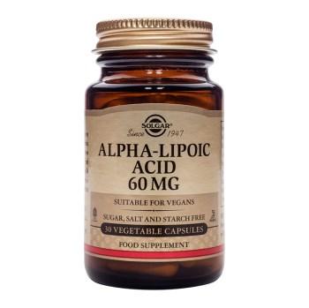 Solgar Alpha Lipoic Acid 60mg 30veg.caps