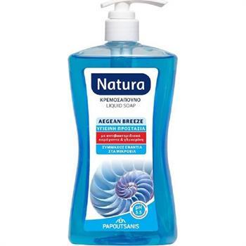 Papoutsanis Natura Aegean Breeze Liquid Soap 400ml