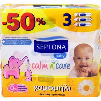 Septona Calm N  Care Chamomile 192 τμχ