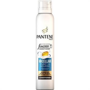 Pantene Micellar Purify + Nourish Foam Conditioner 180ml