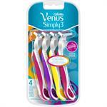 Gillette Venus 3 Multicolor 3+1 Δώρο