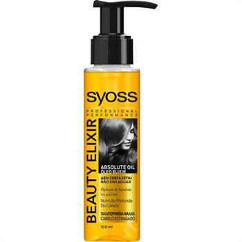 Syoss Treatment Beauty Elixir Oil Λάδι Καθημερινής Φροντίδας για Ξηρά + Ταλαιπωρημένα Μαλλιά, 100ml