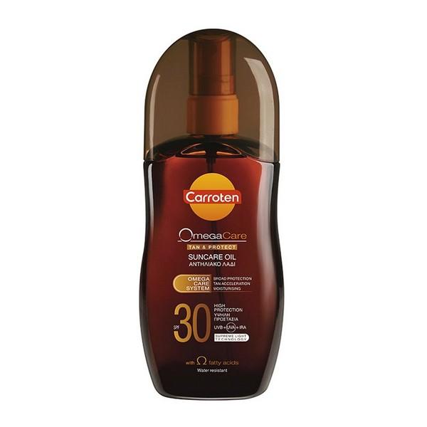 Carroten Omega Care Suncare Oil Spray Αντηλιακό Λάδι SPF30 125ml