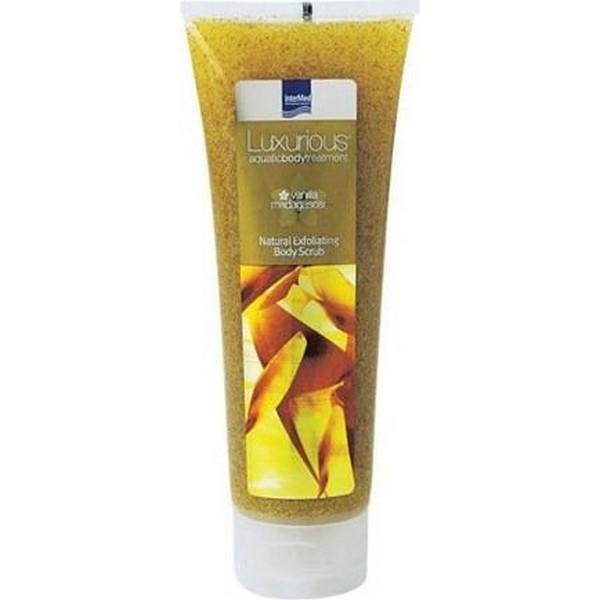 Intermed Luxurious Natural Exfoliating Body Scrub Vanilla Madagascar Απολεπιστικό Σώματος με άρωμα βανίλιας, 250ml
