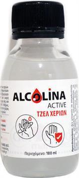 Epsilon Health Alcolina Active Gel Χεριών 100ml 1Τεμάχιο