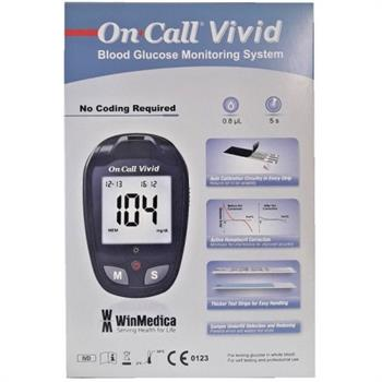 WinMedica On Call Vivid Blood Glucose Monitoring System 1τμχ