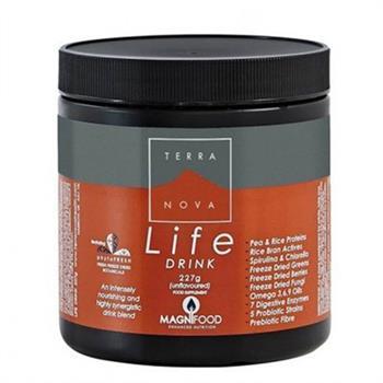 Terranova Life Drink Συμπλήρωμα Διατροφής σε Σκόνη για Ενέργεια & Τόνωση 227GR