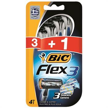 Bic Comfort Flex 3 (3+1 Δώρο) Men