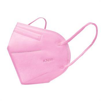 Μάσκα Προστασίας KN95 (FFP2) Ροζ 1 τμχ