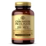 Solgar Chromium Picolinate 200mcg 90vcaps