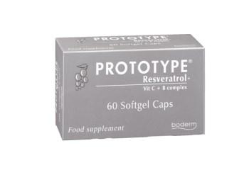 Boderm Prototype Συμπλήρωμα Διατροφής με Ρεσβερατρόλη για Αντιγήρανση 60 softgels