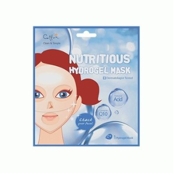 Vican Cettua Clean & Simple Nutritious Hydrogel Mask Μάσκα ενυδάτωσης και θρέψης, 1τμχ