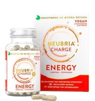 Neubria Charge Energy Συμπλήρωμα Διατροφής για Πνευματική Εγρήγορση