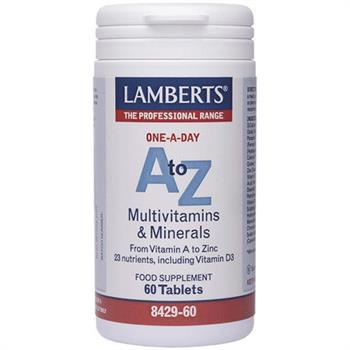 Lamberts A to Z Multivitamins 60 tabs