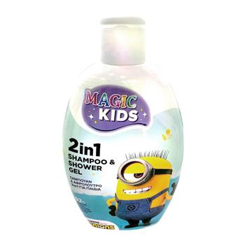 Helenvita Kids Minions Blue 2 in 1 Shampoo & Shower Gel 500ml