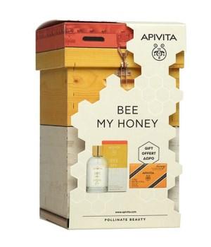 Apivita Promo Bee My Honey Eau De Toilette 100ml & Δώρο Φυσικό Σαπούνι Μέλι 125gr