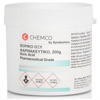 Chemco Acid Boric Βορικό Οξύ 200gr