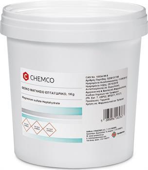 Chemco Epsom Salt Μαγνήσιο Θειϊκό Επταϋδρικό 1000gr (1Kg)