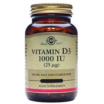 Vitamin D3 1000IU (25μg) - 7softgels