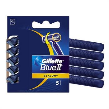 Gillette Blue II  Slalom  Ξυραφάκια 2 Λεπίδες 5τμχ
