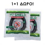 Mo-Shield Αντικουνουπικό Βραχιόλι Σιλικόνης 1+1 τμχ Δώρο