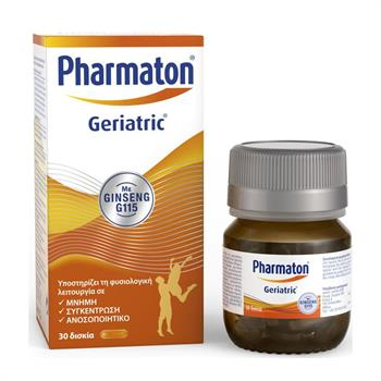 Pharmaton Geriatric με Ginseng G115 30 Δισκία