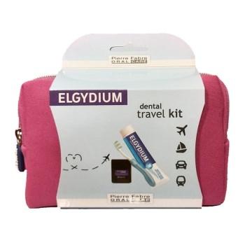Elgydium Dental Travel Kit Pink 1τμχ