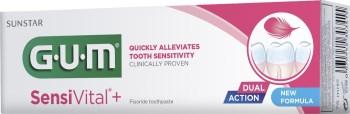 GUM 6070 SensiVital+ Toothpaste για Ευαίσθητα Δόντια & Ούλα 75ml