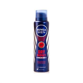 Nivea Men Dry Impact Plus 48h Spray 150ml